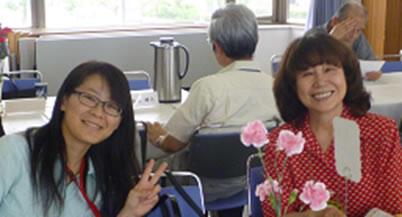 陳淑珮さんと古橋エツ子さん